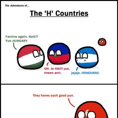 This is about the h countries featuring your favorite poor man, honduras ball
