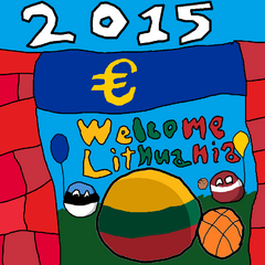 LITHUANIA can into Euro zone!