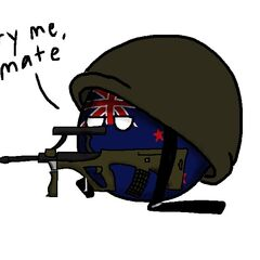New Zealand as a soldier.