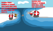 Canada and Denmark fight over a rock
