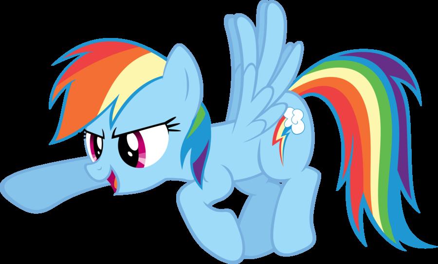 Rainbow Dash Png Full resolution