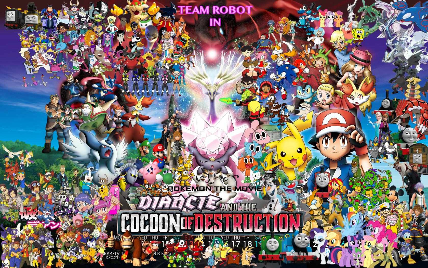Team Robot in Pokemon: Diancie & The Cocoon of Destruction ...