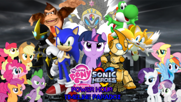 My Little Pony-Sonic Heroes - Power Hour Poster 4