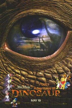 Pooh's Adventures of Dinosaur poster (Remake)