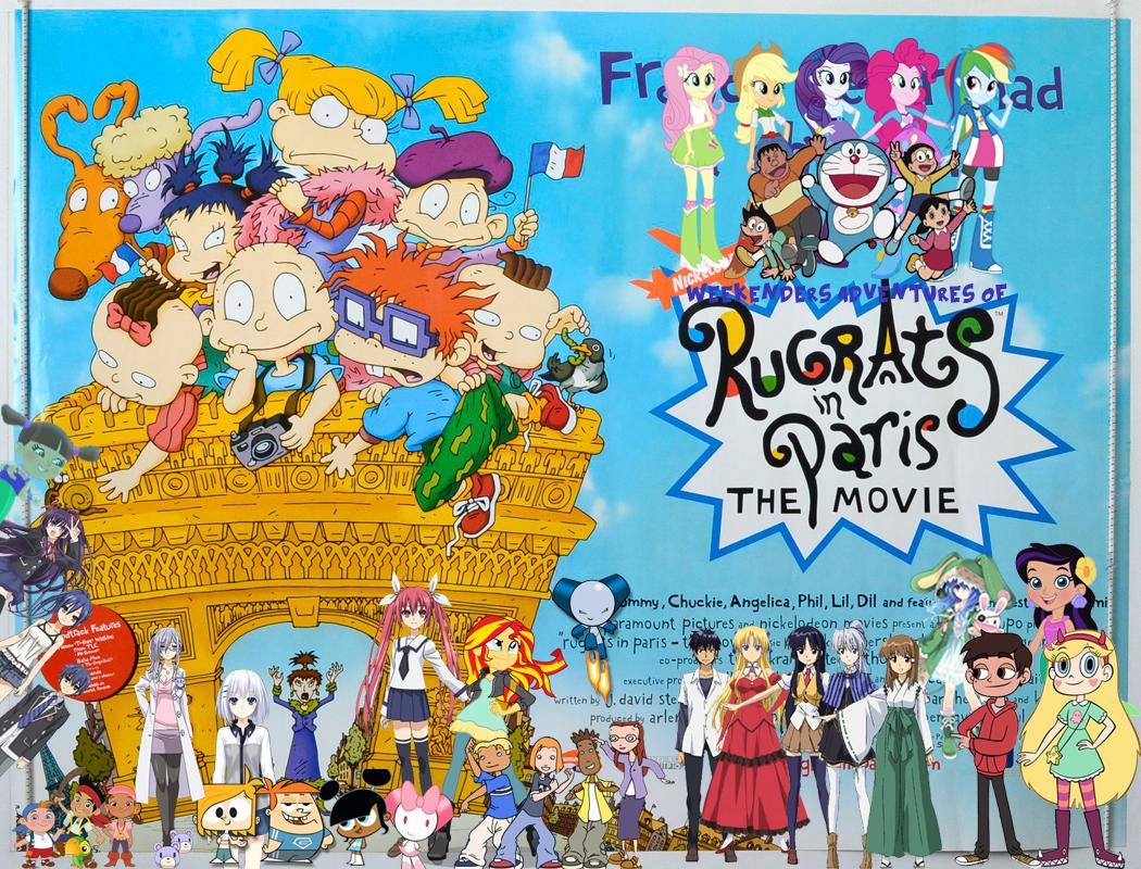 Weekenders Adventures Of Rugrats In Paris The Movie