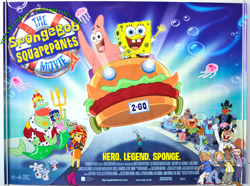 Weekenders Adventures of The SpongeBob SquarePants Movie ...