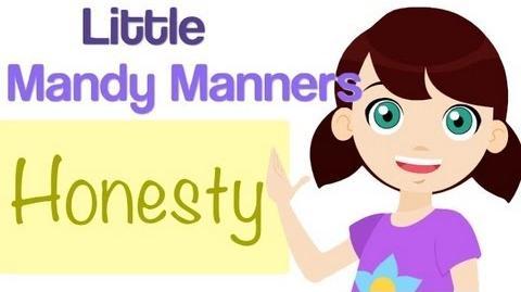 Honesty Is True Little Mandy Manners TinyGrads Children's Videos Character Songs