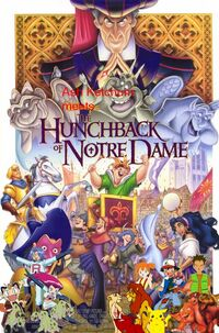 Ash Ketchum meets The Hunchback of Notre Dame poster