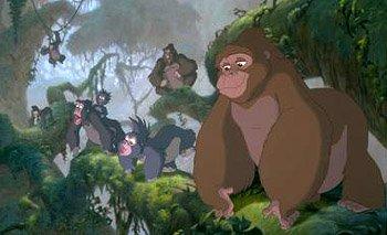The gorilla family pooh 39 s adventures wiki fandom powered by wikia - Tarzan gorille ...