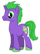 Spike as a Unicorn