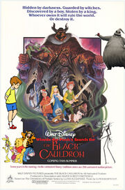 Winnie the Pooh's Search for The Black Cauldron Poster Version 2
