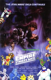 Pooh's Adventures of Star Wars Episode V The Empire Strikes Back Poster