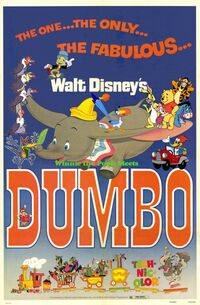 Winnie the Pooh Meets Dumbo Poster