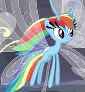 Rainbow Dash as a Breezie