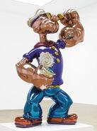 Popeye sculpture sold in 28M