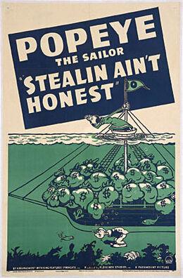 Stealin poster