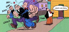 Popeye vs Wormwood