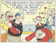 Bill Barnacle and Popeye team-up