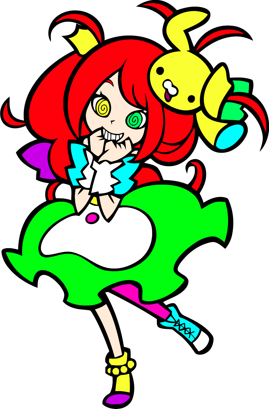 Female Characters With Red Hair Usanuko | Pop'n Music ...