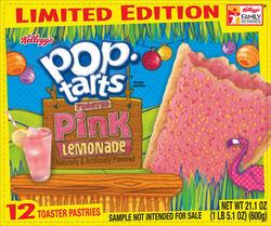 Pink lemonade pop tarts