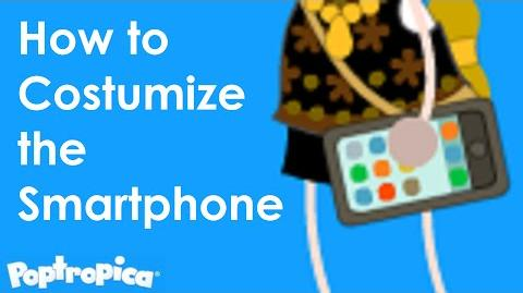Poptropica - How to Costumize the Smartphone