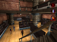 Interior of the Library