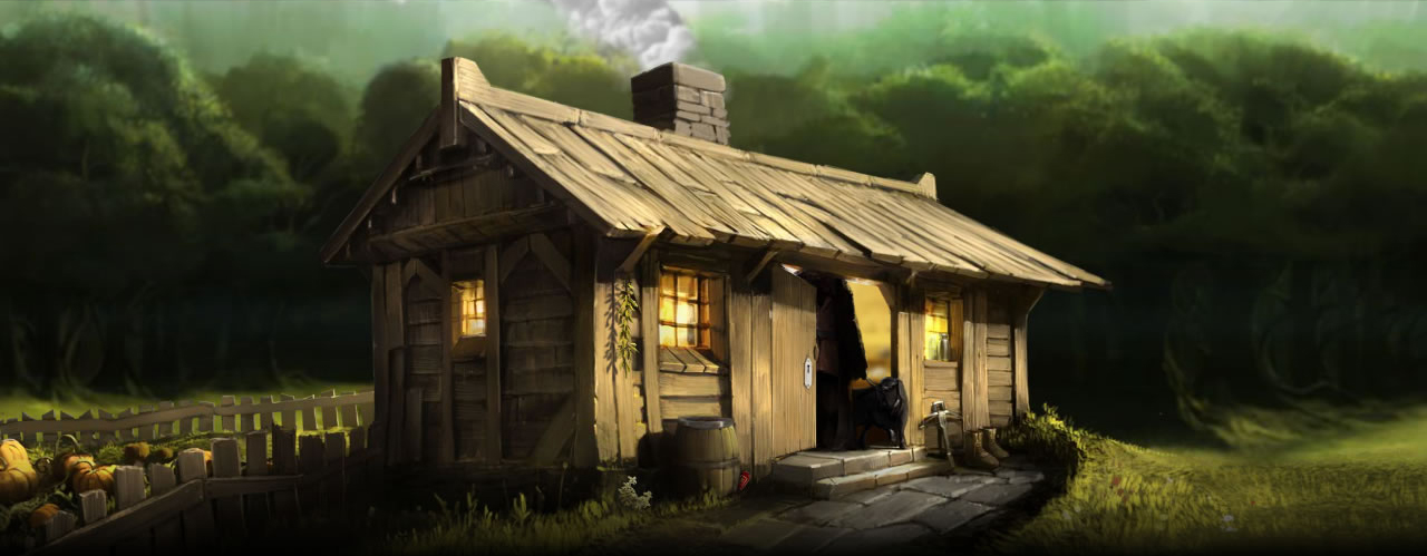 Hagrid 39 s wooden house pottermore wiki fandom powered What house was hagrid in