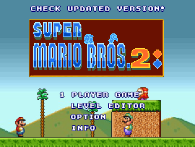 mario bros flash 2
