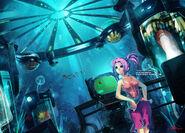 Underwater lab by blackcenturies-d344smz