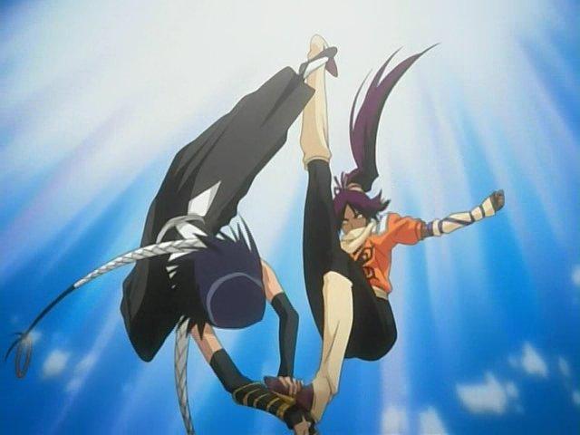File:Soi Fong vs Yoruichi.jpg