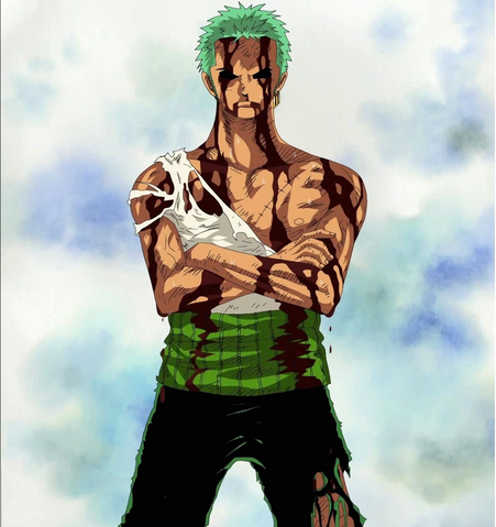File:Zoro After Taking Luffy's Pain.png