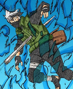 Kakashi phases through attack