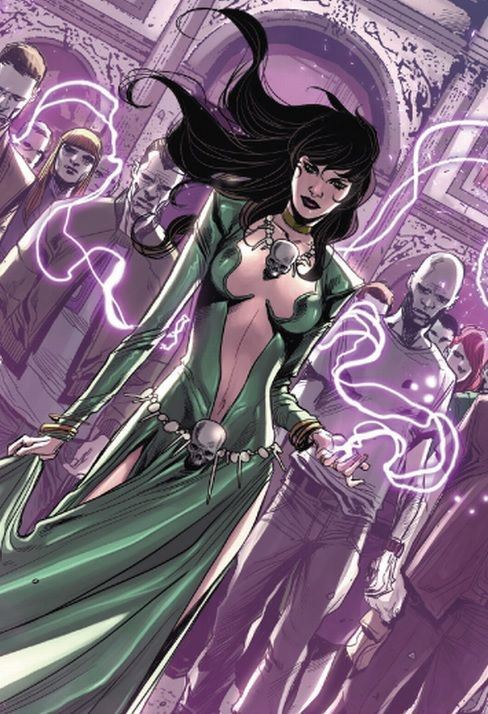 Morgan le Fay (Earth-616) from Avengers World Vol 1 10 001