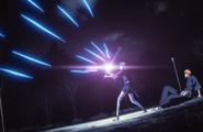 Nozomi absorbs Uryus arrows