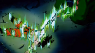 Piccolo gives Goku his power