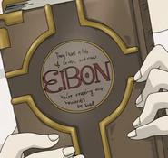 Book of Eibon in the anime