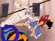 Luffy Kicks Enel