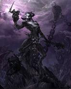 Molag Bal Elder Scrolls concept