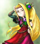 Viridi goddess of nature