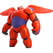 Baymax Armor Wings Render