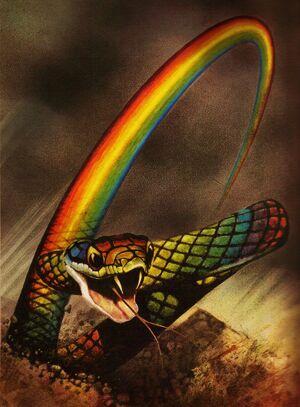 Rainbow Serpent by Cut Throat Angel