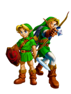 Link and Young Link