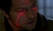 Castiel transferring Sam's insanity