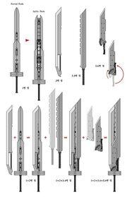 Combination sword