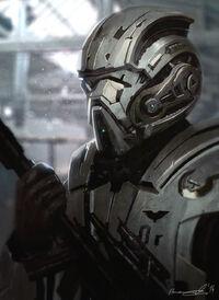 Generic sci fi soldier by ilmarinenn-d713nou