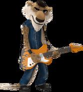 Trey rock dog