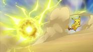 Ash Pikachu Electro Ball