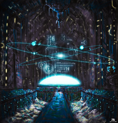 Quiescience Neutrino Hypercomputer