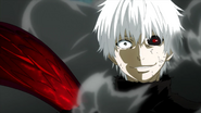 Kaneki telling it's his turn