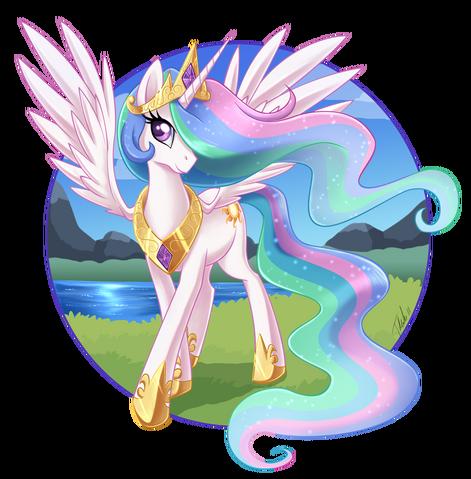 File:Princess Celestia by MetalPandora.png